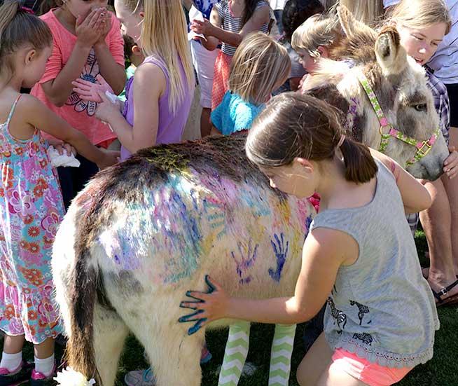 Painting a Fantasy Donkey